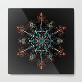 Substance of the Universe Mandala Metal Print