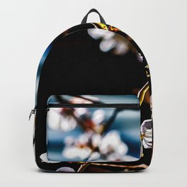 Japanese Apricot Branch In Spring Backpack