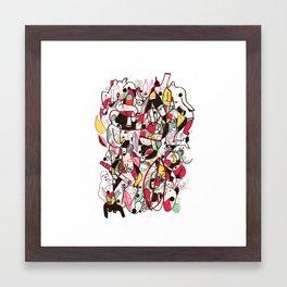 des15 Framed Art Print