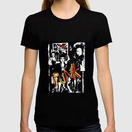 Music fans alternative punk fashion illustration. T-shirt