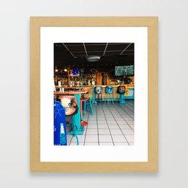 Beach Bar Framed Art Print
