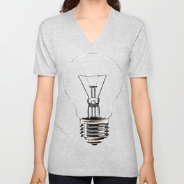 I Have an Idea!  Let there be light... Unisex V-Neck
