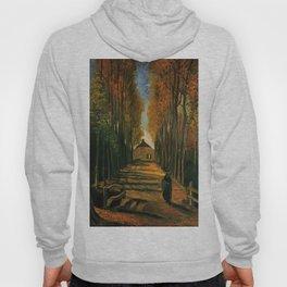 Van Gogh: Avenue of Poplars at Sunset Hoody