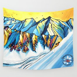 Majestic Heli Ski 2017 Wall Tapestry