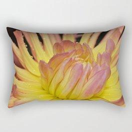 Flower Of Fire Rectangular Pillow