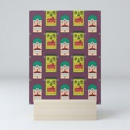 Chasing Viktor Frankenstein (Patterns Please) Mini Art Print