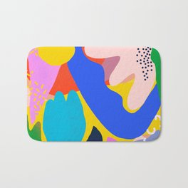 Unbridled Enthusiasm - Shapes and Layers no.38 Bath Mat