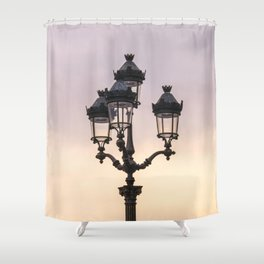 Paris Street Style No. 1 Shower Curtain