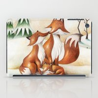 foxes iPad Cases featuring Foxes by Arianna Usai