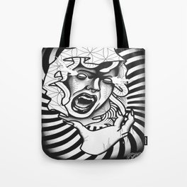 Distraught Medusa Tote Bag