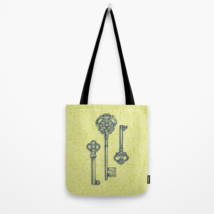 Three Skeleton Keys Tote Bag