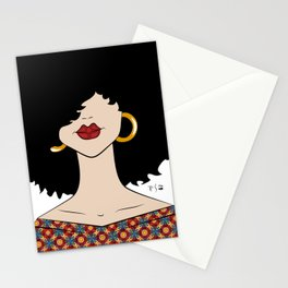 Curly Stationery Cards