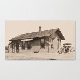 Addison Railroad Station, Ticonderoga Canvas Print