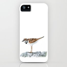 Killdeer Art 1 by Teresa Thompson iPhone Case