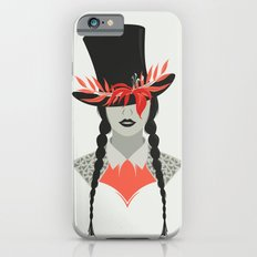 Lady in Hat iPhone 6s Slim Case