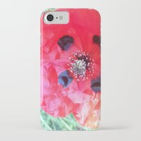 degas iPhone & iPod Cases featuring Degas' poppy by Bee in Eden