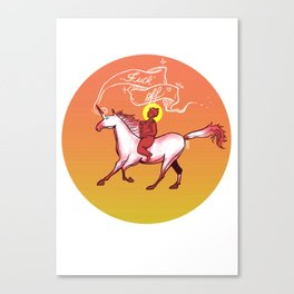"Inner Peace ""b"" Canvas Print"
