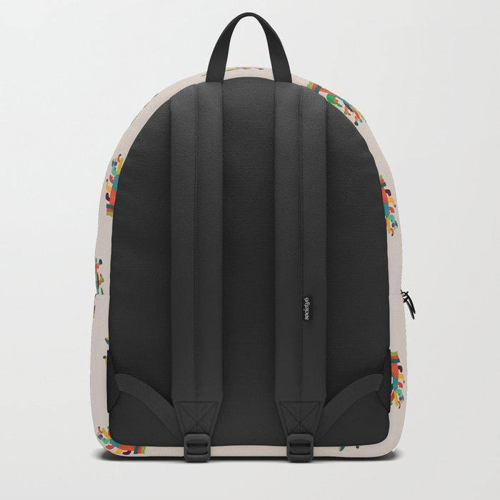 Whimsical Cactus Backpack