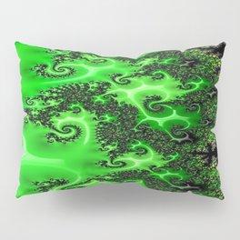 Green Lace Pillow Sham
