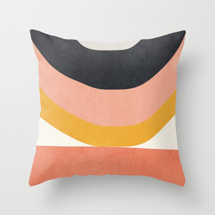 Abstract Art 8 Throw Pillow