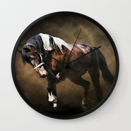 The Restless Gypsy Wall Clock