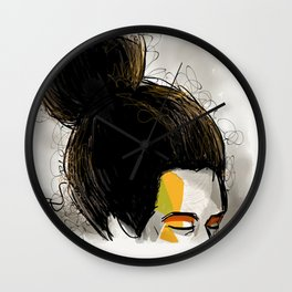 Bunhead Wall Clock