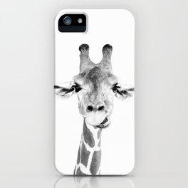 Hey Giraffe iPhone Case