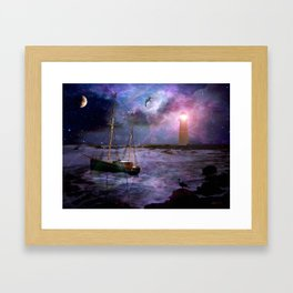 A Fishermans Tale Framed Art Print