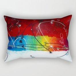 Welcome happiness Rectangular Pillow