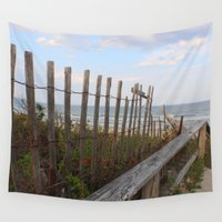 maine Wall Tapestries featuring Maine Beach by Thanks for the Memories