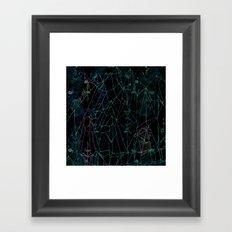 Crystal peak Framed Art Print