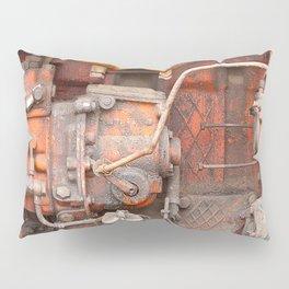 Old rusty iron piece Pillow Sham