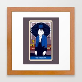 The Magician Framed Art Print