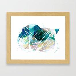 Shapescape  Framed Art Print