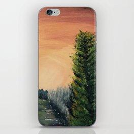 Cliffs Landscape by Noelle's Art Loft iPhone Skin