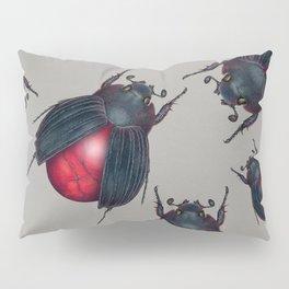 Red Jasper Beetle Pillow Sham