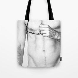 Male Study Tote Bag