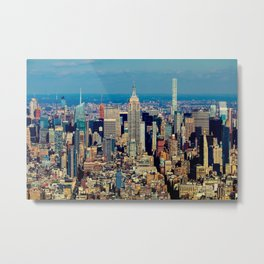 NYC Cityscape (Color) Metal Print