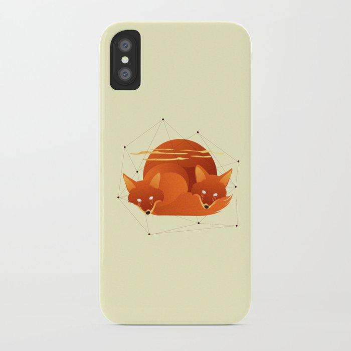 Fiery Fox iPhone Case