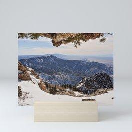 Sandia Peak Mini Art Print