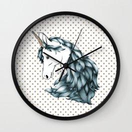 Magestic Unicorn Wall Clock
