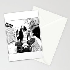 asc 589 - Une Américaine à Paris (My 4th of July in Paris) Stationery Cards