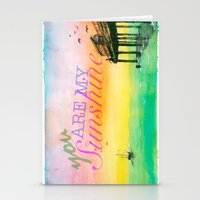 you are my sunshine Stationery Cards featuring Sunshine by Jacob Thomas