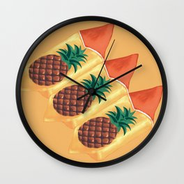 Pineapple sweets Wall Clock