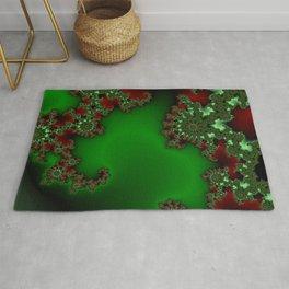 Mandelbrot - Green Rug