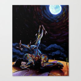 American Prayer 2 Canvas Print