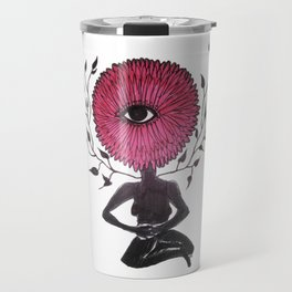 Divine Flower Woman Travel Mug