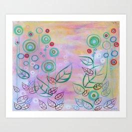 Pink Calmness Art Print
