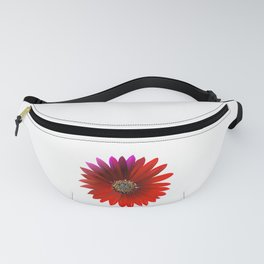 crimson flowers Fanny Pack