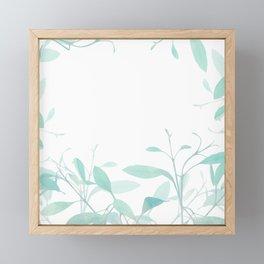 nature connection Framed Mini Art Print